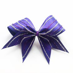 Amethyst Bow. Violetta Collection. KL Bows x