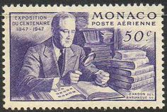 Stamp Collecting Honored in Monaco.