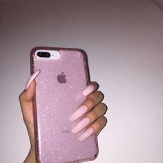 what phone do you guys have 😊? i have the iPhone 8 * * * * * * * *  Cute Cases, Cute Phone Cases, Iphone Phone Cases, Iphone 7 Plus Cases, New Iphone, Bling Phone Cases, Iphone 7 Plus Funda, Telefon Apple, Aesthetic Phone Case