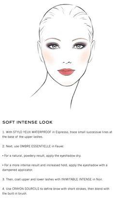 CHANEL: Soft Intense Look