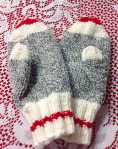 Very stylish and warm. So whimsical!! Sock monkey items are the rage this year. Made with high quality acrylic yarn to provide warmth, comfort and wash and wear ease. As pictured, fits ladies S-M or childs large and are available for immediate shipping. Other sizes available on