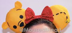 Pooh Silly Old Bear Mouse Ears by Mouseatheart on Etsy