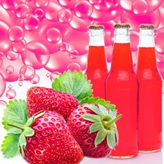 Strawberry Soda Pop Fragrance Oil | Natures Garden Scented Oils #strawberryscent #sodapopfragrance #strawberrysodapop