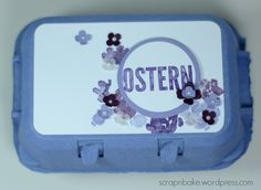 Stampin' UP! - Ostern - Easter - eierkarton - Verpackung - painted Petals - goodie - egg carton