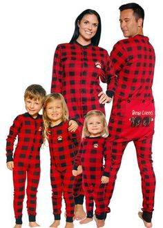 christmas pajamas for the family that match