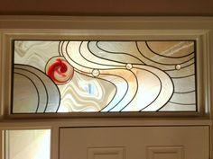 Transom Stained Glass Window
