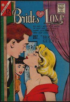 Charlton Comics BRIDES In LOVE #40 FN/VFN 7.0 US ONLY!! | eBay