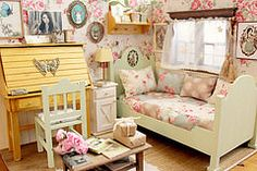 Heart of Mori (Moonchild Silverdream) Tags: miniature bedroom scenery doll handmade ooak dal bjd pullip blythe mori diorama dollhouse dollfurniture lati roombox