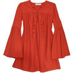 Rachel Zoe | Helen Mini Dress ❤ liked on Polyvore featuring dresses and boho