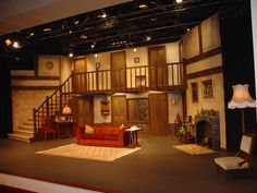 Stage  Set from  Noises  Off 2006 demonstrating use of the stage at  Playhouse  Theatre  Glen  Eden