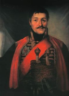 DJORDJE PETROVIĆ, known as Karadjordje (Black George; 14 November 1762 – 25 July 1817), was the founder of modern Serbia, as the elected leader of the First Serbian Uprising (part of the Serbian Revolution) that aimed at liberating Serbia from the Ottoman.Karađorđe is the founder of the House of Karađorđević, the Serbian royal family, which would later be given the Serbian crown after the deposing of the rival House of Obrenović.