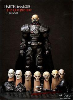 Star Wars figures by Dayton Allen