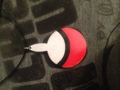 Uchiha fan necklace