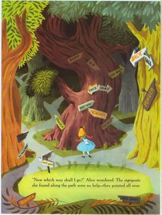 Page from the 1951 storybook