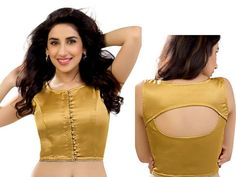 Designer choli is perfect for pure pleasure and uncommon styling.  Item code: BUM2503 http://www.bharatplaza.com/new-arrivals/accessories.html