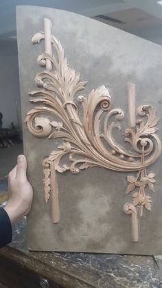 Real genuine carving