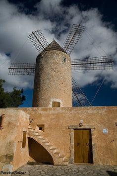 Molí de'n Hereu - Felanitx, Island of Mallorca, Spain.
