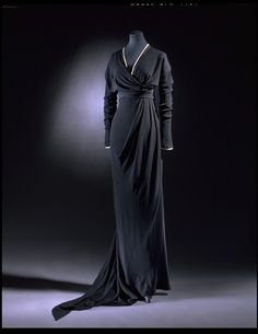 Beautiful draping in this Edwardian dress