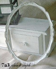 Rabbit wire frame