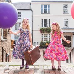 **Christmas & Party Dresses** We have lots of stunning #LibertyPrint #PartyDresses and outfits for your little ones this season. Come & visit us at #TheSpiritOfChristmas in London this week or visit our website to order www.suehillchildrenswear.com - Thanks to suehillclothing via instagram.