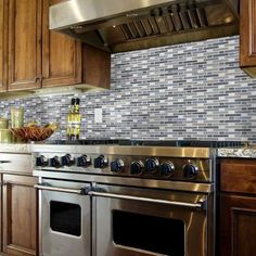 Cyclove Glass/Stone Mosaic Wall Tile