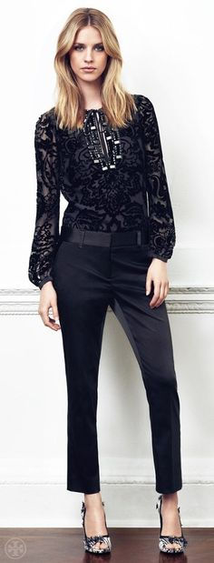 Tory Burch Holiday - The Embellished Tunic - So chic