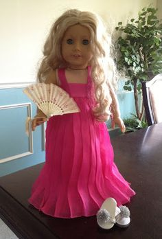 All Things With Purpose: DIY Easy American Girl Ball Gown