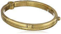 "Giles and Brother Men's ""G&B"" Latch Classic Brass Cuff Bracelet"