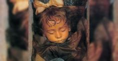 About 100 years ago, a 2-year-old Italian girl named Rosalia Lombardo died of pneumonia.