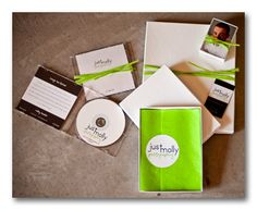 Client packaging - Just Molly Photography