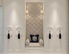 Classic Interior, Home Interior Design, Interior And Exterior, Luxury Interior, Master Closet, Closet Bedroom, Wardrobe Closet, Master Bedroom, Closet Wall