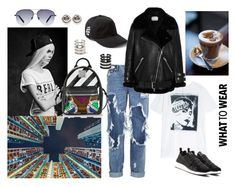 """Untitled #206"" by raphaelaelena ❤ liked on Polyvore featuring moda, R13, One Teaspoon, Y-3, Acne Studios, Victoria Beckham e MCM"
