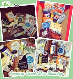 January Snack Box Round Up on the Vegan Cuts Blog!