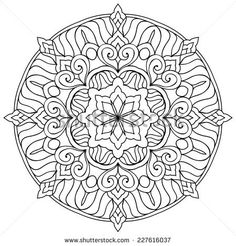 Hand Drawn Mandala Imagenes Pagas Y Sin Cargo Vectores En Stock