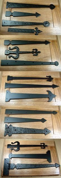 Rustic Hardware Clavos Decorative Nails Decorative Hinges, - Lilly is Love Rustic Hardware, Barn Door Hardware, Decorative Hinges, Garage Door Decorative Hardware, Barn Door Handles, Door Latches, Blacksmith Projects, Rustic Doors, Old Wood Doors