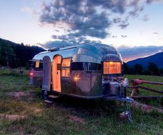 Air Stream Sunset