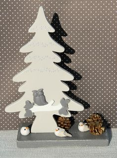 figuurzagen, kerstboom op standaard