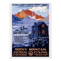 Rocky Mountain National Park Posters