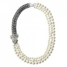 $13.46 Vintage Multilayered Faux Pearl Embellished Alloy Necklace For Women