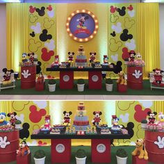 Ideas Birthday Decorations Backdrop Mickey Mouse For 2019 Mickey Mouse Birthday Cake, Fiesta Mickey Mouse, Mickey Mouse Baby Shower, Mickey Mouse Parties, Mickey Party, Birthday Themes For Adults, 1st Birthday Parties, Girl Birthday, Mickey Mouse Backdrop