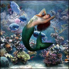 """Mermaid"" by crezenthie on Polyvore"
