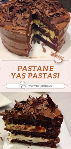 Cake Recipes, Dessert Recipes, Desserts, Pasta Cake, Home Bakery, Tasty, Yummy Food, Tempura, Turkish Recipes