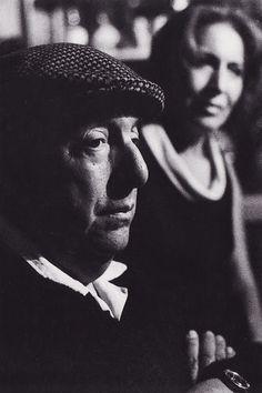 Pablo Neruda y Matilde Urrutia, 1972  Fotografía de Sara Facio