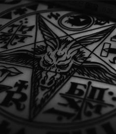 Image uploaded by Find images and videos about satan, pentagram and satanism on We Heart It - the app to get lost in what you love. Baphomet, Simbols Tattoo, Goat Of Mendes, Digital Foto, Satanic Art, Arte Obscura, Occult Art, Dark Lord, Oeuvre D'art