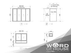 SCG Building Materials - รวมความรู้เรื่องการสร้างบ้าน ขั้น ... Human Dimension, Detailed Drawings, Floor Plans, Diagram, Floor Plan Drawing, House Floor Plans