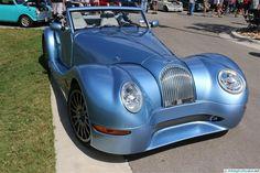 Morgan Aero 8. As seen at the 2014 Texas All British Car Days show.