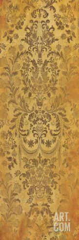 Damask Spice 4 Art Print by Jace Grey at Art.com