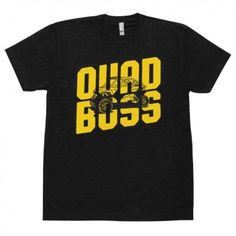 QuadBoss Maverick Logo Motocross Off Road Dirt Bike Short Sleeve Mens T-Shirts