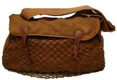 vintage hunting bag