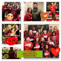 Great photos of the CBIZ Wellbeing team and their fundraising efforts for American Heart Association!